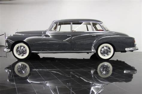 Mercedes Adenauer 1960 Mercedes 300d Adenauer Saloon Classic