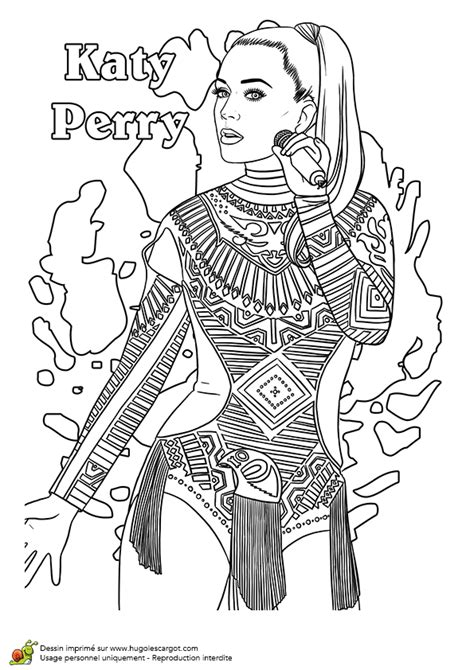 free roar from katy perry coloring pages