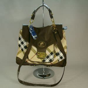 Tas Branded Burberry Original branded handbags burberry plaid