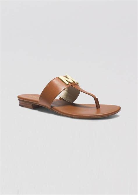 michael kors flat sandals michael michael kors michael michael kors flat