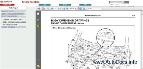 toyota auris corolla 2008 repair manuals download toyota corolla auris service manual 2006 2008 repair manual order download