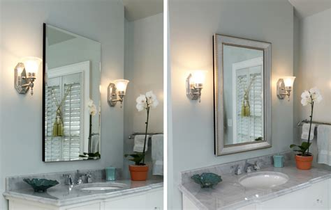 how to frame a medicine cabinet mirror medicine cabinet mirror frames for residential pros
