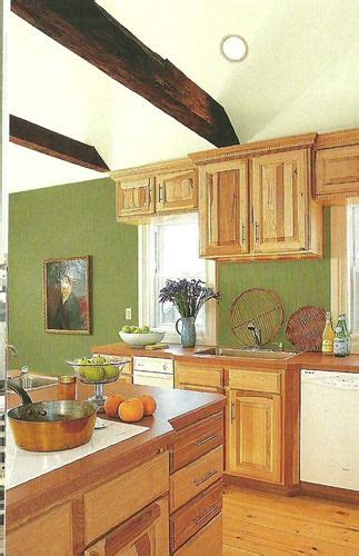 paint colors that go with wood trim and cabinets use white to contrast or same shade