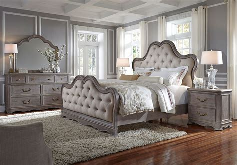 simply charming upholstered bedroom set pulaski furniture furniture cart