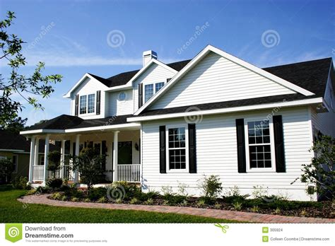 Dream Homes House Plans by Cozy Country Home Stock Images Image 305924