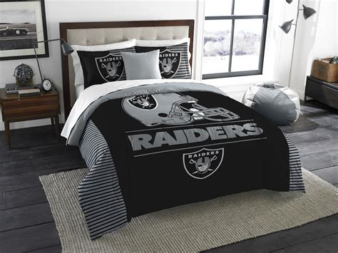 oakland raiders king size comforter and 2 shams buy at