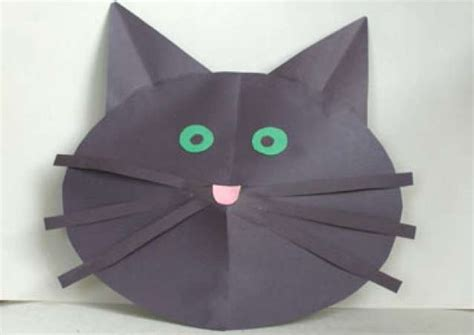 How To Make A Cat Mask Out Of Paper Plates - how to make a cat mask out of paper 28 images cat mask