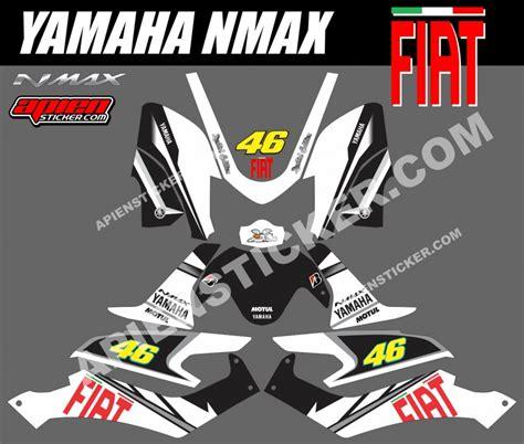 Sticker Striping Motor Stiker Yamaha Mio Sporty Hoonigan Silver Spec B 1 striping motor yamaha nmax fiat hitam apien sticker