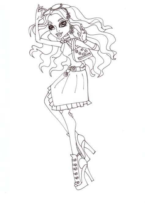 monster high big coloring pages free printable monster high coloring pages january 2013