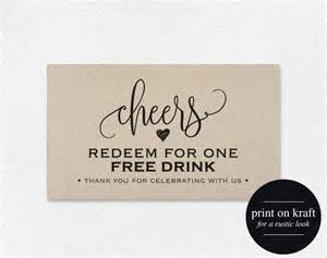 complimentary drink ticket template free drink tickets printable from bliss paper boutique