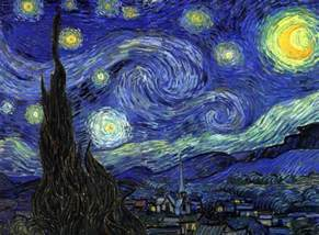 Starry Night Vincent Van Gogh The Starry Night Painting Framed
