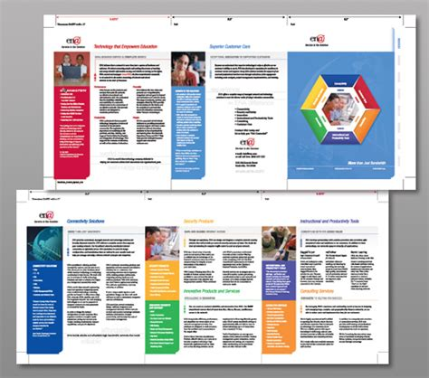 software brochure templates brochure design software trifold template