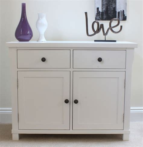 Small White Sideboard new solid white painted furniture small sideboard cupboard