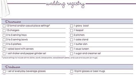 Wedding Checklist For Him by Fear Conditioning In Animals Easy Wedding Registry