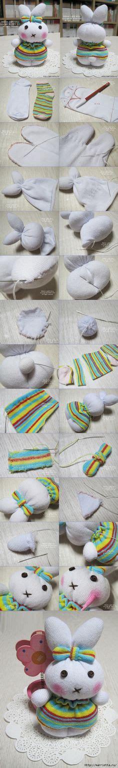 Kaos Dont See Monkey fretta sock elephant free pattern tutorial sewing