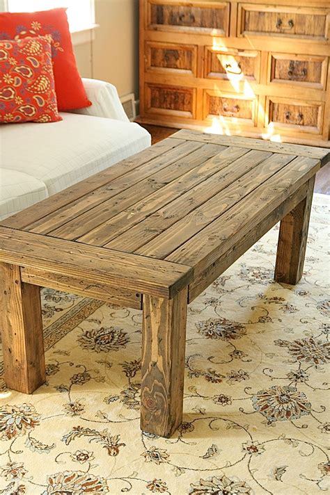 coffee table do it yourself home projects from white