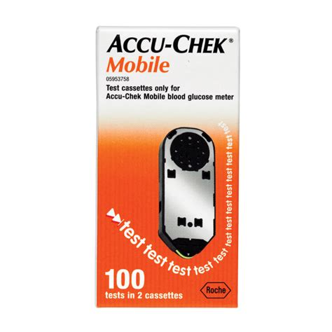 accu chek mobile test cassette 100 accu chek mobile test cassette 100 chemist warehouse