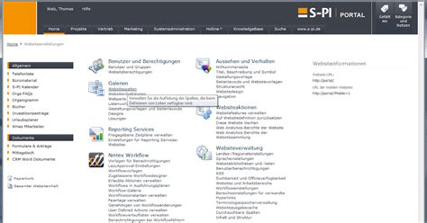 Website Lookup S Pi Corporate F 252 R Microsoft Sharepoint Technologien