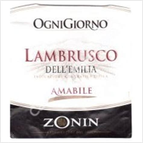 Ognigiorno Lambrusco Dell Emilia Amabile youcellar zonin ognigiorno amabile lambrusco dell emilia 36053 gambellara vicenza wine