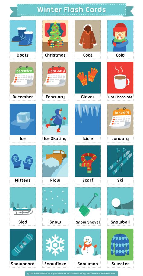 free printable flash card maker with pictures free printable winter flash cards download them in pdf