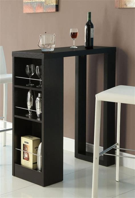 Modern Bar Table Small Bar Tables Modern Indoor Pub And Bistro Tables Other Metro By Adarn