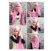 Tutorial Hijab Modern Modis Untuk Wajah Lonjong