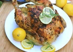 lemon garlic rosemary roasted chicken recipe divas can