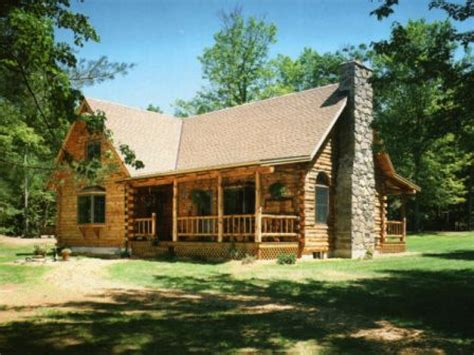 Log Cabin Style House Plans | small log home house plans small log cabin living country