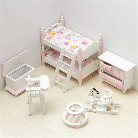 doll house bedroom set dollhouse miniature girl s bedroom set bedroom miniatures dollhouse miniatures