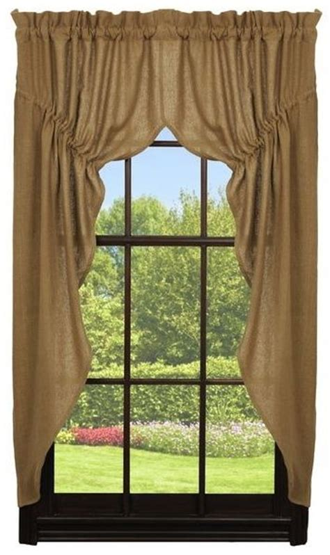 ihf curtains burlap country curtains ihf kitchen idea s pinterest