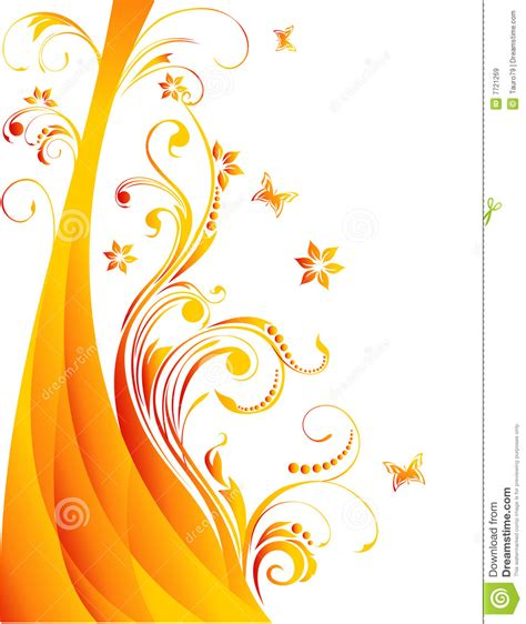 stock images royalty free images vectors vector flower illustration royalty free stock images image 7721269