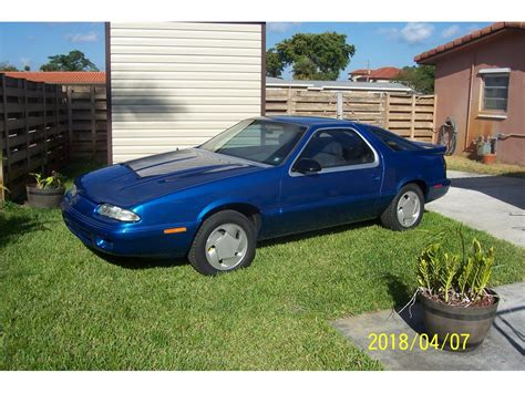 how cars run 1992 dodge daytona regenerative braking 1992 dodge daytona for sale classiccars com cc 1091915