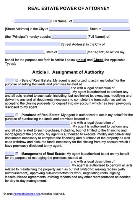 Real Estate Power Of Attorney Form Pdf Templates Power Of Attorney Power Of Attorney General Power Of Attorney Template California