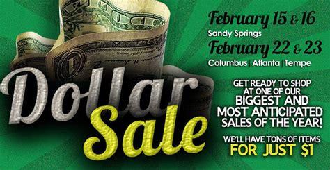 rag o rama dollar sale 2016 the dollar sale returns this february at rag o rama