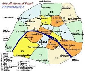 Di parigi francia mappa di tutte le stazioni della