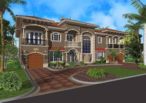 luxury home plans with elevators grand luxury with elevator 32060aa architectural designs house plans