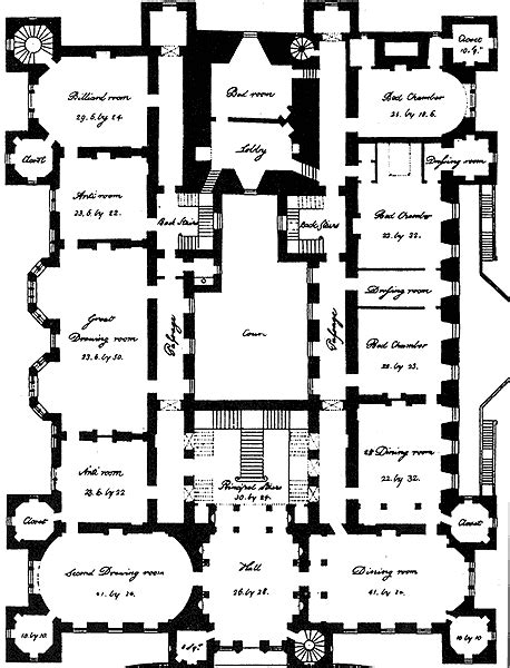 castle style floor plans loudoun castle floor plan floor plans pinterest