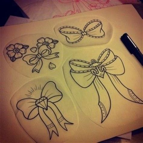 simple tattoo gem bows tattoo flash flash art pinterest bow tattoos