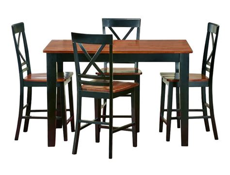 slumberland counter height table slumberland cosmos collection cherry counter dining