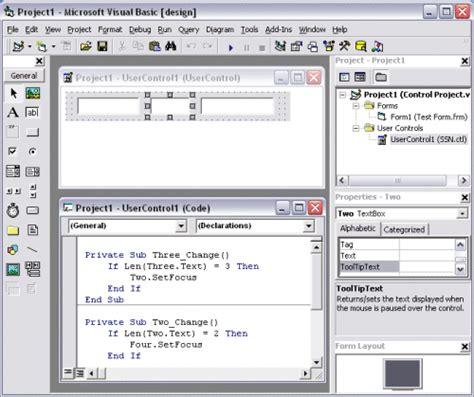 comparar imagenes visual basic controles de interfaz de usuario en visual basic 6 y