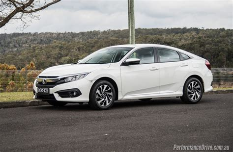 honda civic 2016 2016 honda civic vti s sedan review video performancedrive