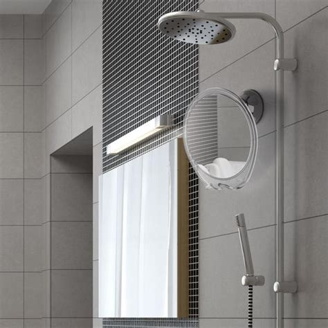 no fog bathroom mirror fogless shower mirror with razor hook for a perfect no fog