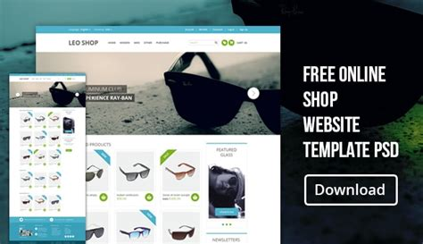 Free Online Shop Website Template Psd 187 Css Author Free Store Website Templates