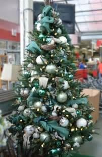 christmas tree decorations teal christmas decorating