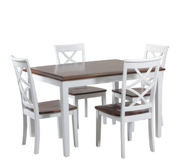 harrison 5 dining table set by powell home gallery