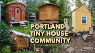 Tiny Home Communities In Portland Oregon Tiny House Lifestyle Tiny House Community