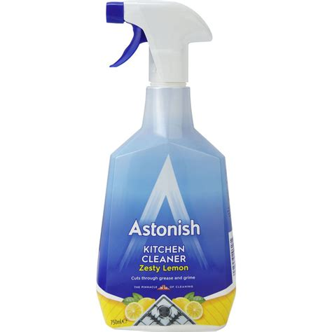 Kitchen Cleaner by Astonish Kitchen Cleaner Chemical Solutions