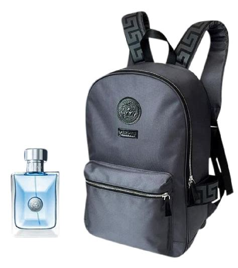 Backpack Polo Homme Original versace new s logo pour homme toilette gift set backpack backpacks on sale