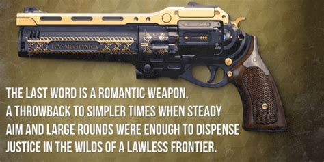 The Last Word top 5 weapons
