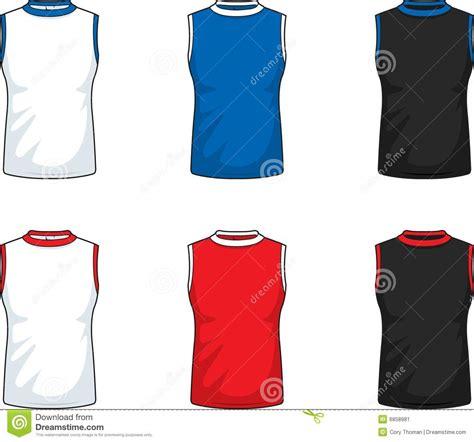 sleeveless shirt template sleeveless t shirts stock image image 6858981